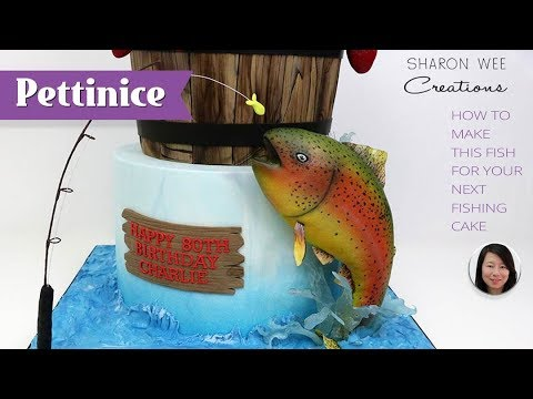 How To Make A Fish For Your Next Fishing Cake