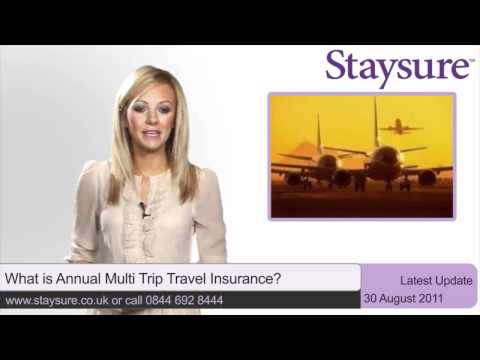 What is Annual Multi Trip Travel Insurance?