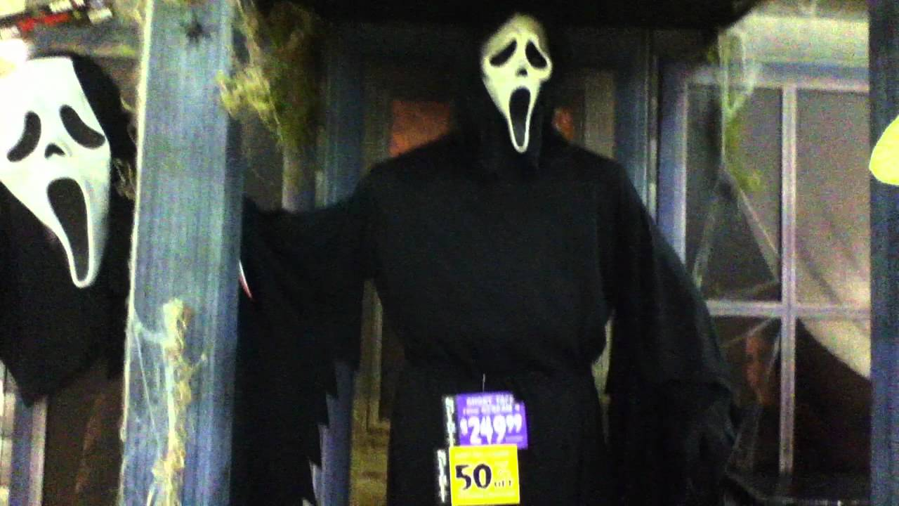 spirit halloween 2011 clearance scream 4 ghostface youtube