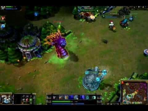 League of Legends - Poppy/Baron Nashor bug.