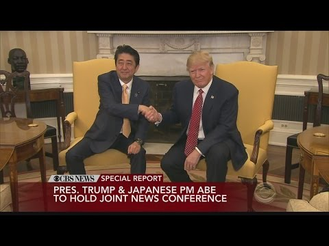 Pres. Trump & Japanese PM Shinzo Abe hold joint news conference