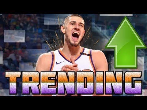 5 Players that are TRENDING UP right NOW in Fantasy Basketball 2018!