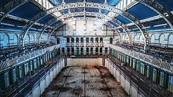 HIDDEN in this Building is a 100 YEAR OLD ABANDONED Swimming Pool