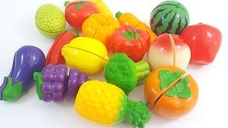 영어 단어로 야채 채소 과일 이름 맞추기 놀이 유아 동영상 키즈