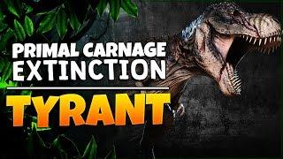 Primal Carnage: Extinction | Tyrant Gameplay: Spinosaurus & T-Rex.