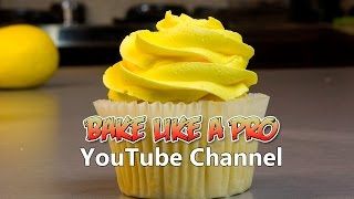 Easy Moist Lemon Cupcakes Recipe