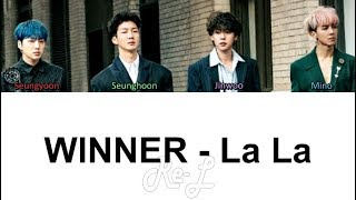 Winner - la color coded lyrics including english subs and translation. twitter: https://twitter.com/myeternalmp3 2nd channel: https://www./chan...
