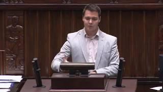 Poseł Rzepecki przypomina niegodne zachowania posłów 14.06.2018