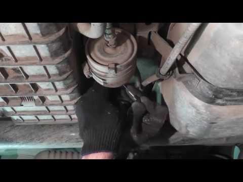 Мазда Трибьют ремонт и обслуживание Замена топливного фильтра