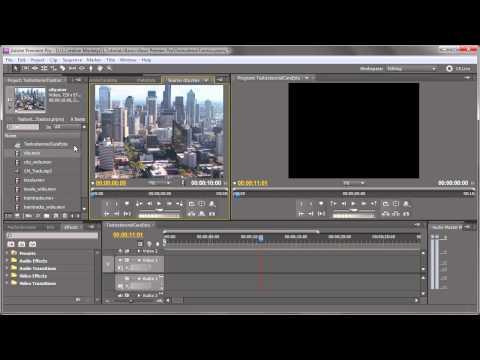 Basic PremierePro - Informatii de baza
