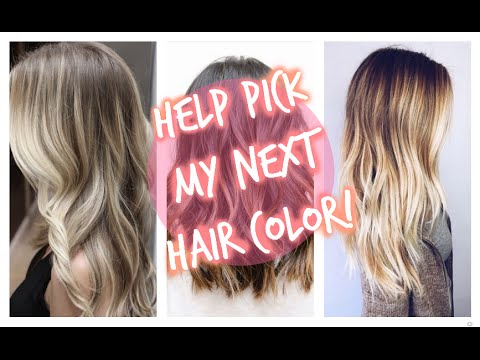 WHAT COLOR SHOULD I DYE MY HAIR? - YouTube
