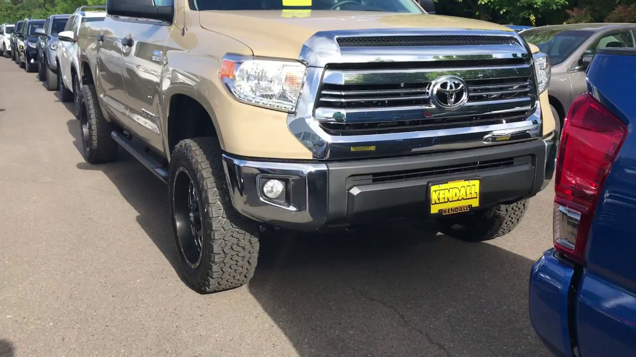 "2017 Toyota Tundra with 3"" lift and XD wheels, KO2 tires ..."