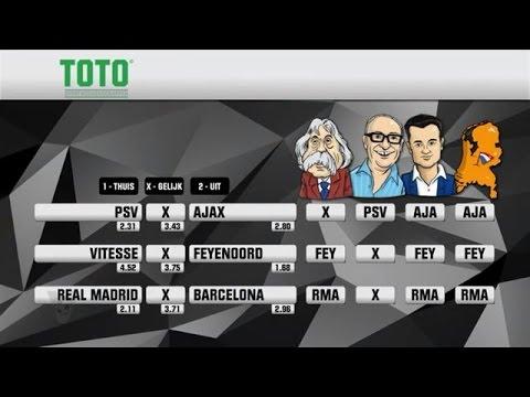 TOTO-voorspelling: Wint PSV of Ajax? - VOETBAL INSIDE
