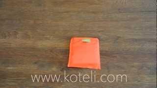 Folding the Koteli bag - Reusable Shopping Bag