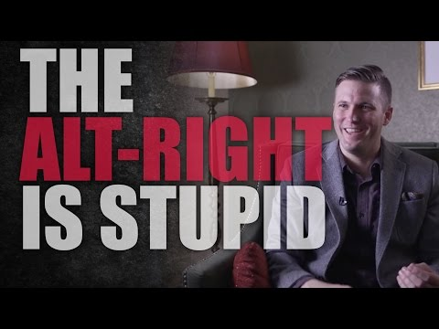 Alt-Right White Nationalists Are Stupid