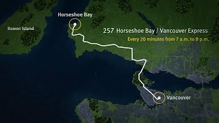 Fall 2018 Transit Service Changes – Horseshoe Bay/Vancouver
