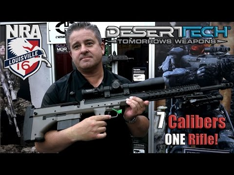 7 Caliber Bullpup Rifle SRS-A1 | Desert Tech | NRA 2016 streaming vf