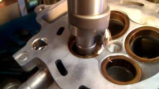 CNC cutting BeCu CRF250R valve seats