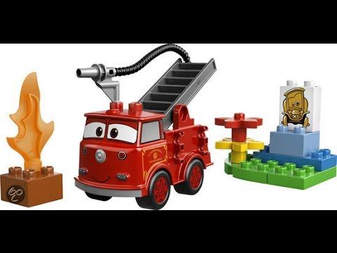 LEGO Duplo Disney Pixar Cars Camin de Bomberos Juguete para Nios