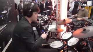 mmag.ru: Musikmesse 2015 - Roland V-Drums td25k - электронная барабанная установка