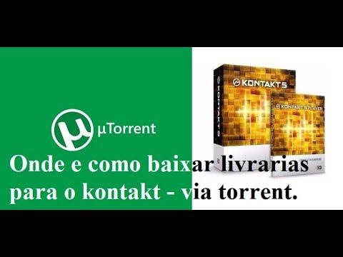 Onde e como baixar livrarias para o kontakt - via torrent