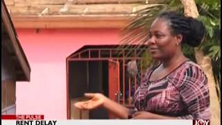 Rent Delay: Landlord rips roof to force tenant out - The Pulse on JoyNews (15-10-18)