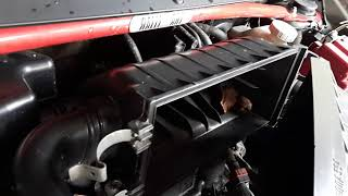 How to clean Mitsubishi Mirage G4 Air Filter. DiY