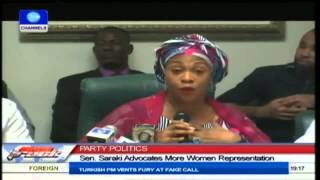 Sen. Saraki Advocates For More Women Representation In Politics