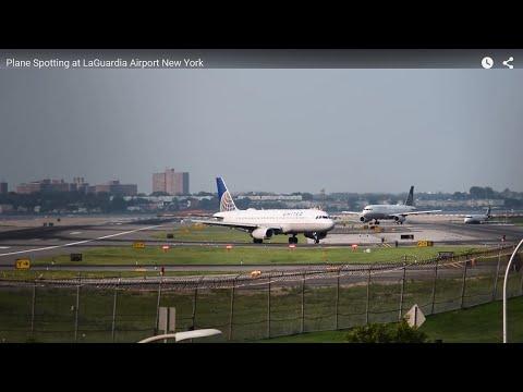 Plane Spotting at LaGuardia Airport New York