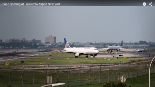 Plane Spotting at LaGuardia Airport New York