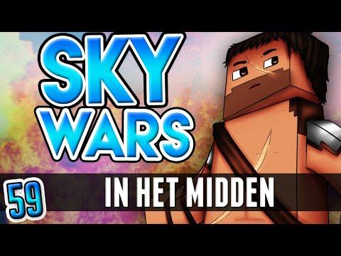 IN HET MIDDEN!! - Minecraft: Sky Wars #59