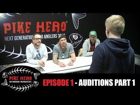 PIKE HERO 2016 - EPISODE 1 - Auditions Day 1 (English, French, German and Dutch Subtitles)
