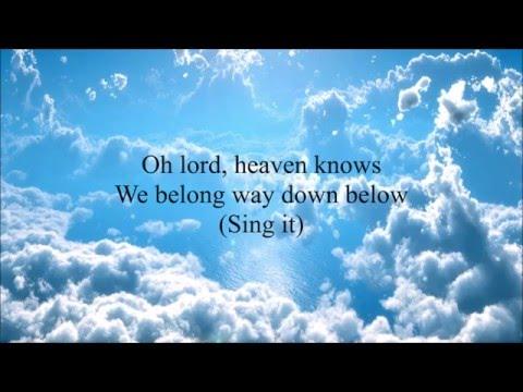 Heaven Knows - The Pretty Reckless (Lyrics)