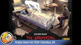 Escape Tales: The Awakening — game preview at Origins 2018