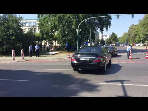 OSZE-Treffen in Potsdam: Außenminister Frank-Walter Steinmeier trifft ein