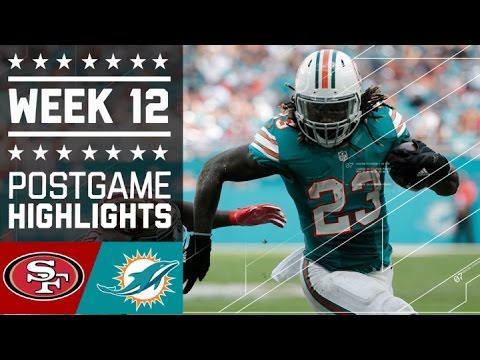 49ers vs. Dolphins | NFL Week 12 Game Highlights