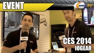 Iogear Keymander & Long Range Wireless 5x2 Matrix Pro @ CES 2014 - Newegg TV