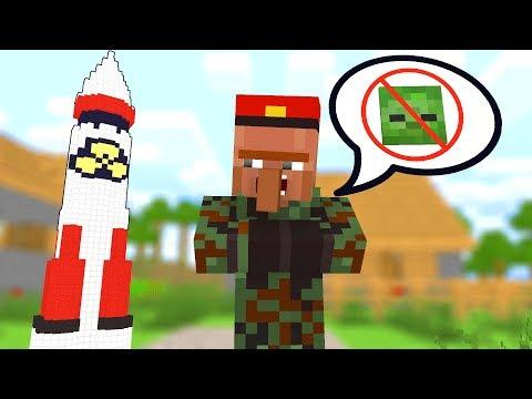 Zombie vs Villager Life 6 - Craftronix Minecraft Animation