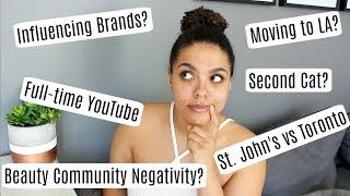 Q&A: YouTube Drama? Moving to the US? Can I Influence Brands?
