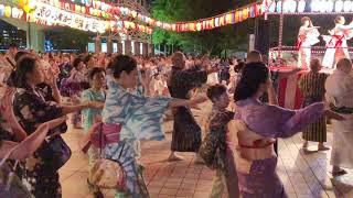 【HD】[隅田川おどり]The Bon Dance Festival @sumidaku,tokyo,Japan 東京都墨田区.スカイツリー盆踊り Bon Odori