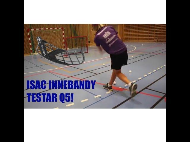 TESTAR SALMING BLAD! Q5 ISAC INNEBANDY SERIE #1