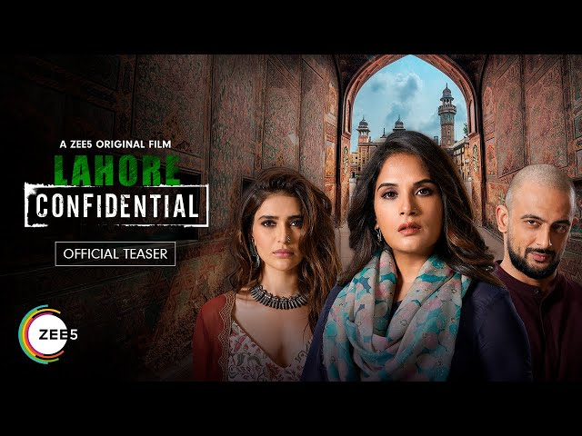 Lahore Confidential | Official Teaser | A ZEE5 Original Film | Streaming Now on ZEE5