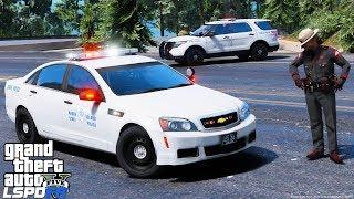 GTA 5 LSPDFR #663 Rhode Island State Police