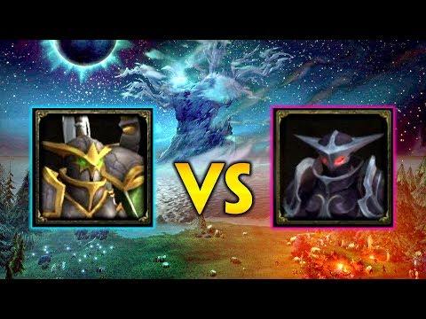 Maiev Shadowsong VS. Sira Moonwarden (Alliance) - Battle For Darkshore