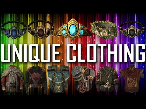 Skyrim - All Unique Clothing Pieces & Sets
