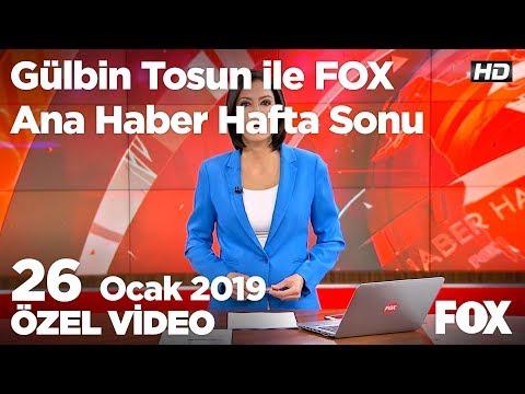 Yeni Askerlik Sistemi Nasıl Olacak? 26 Ocak 2019 Gülbin Tosun Ile FOX Ana Haber Hafta Sonu