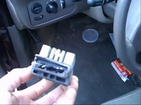 2002 Dodge Grand Caravan Cooling Fan Problem Youtube