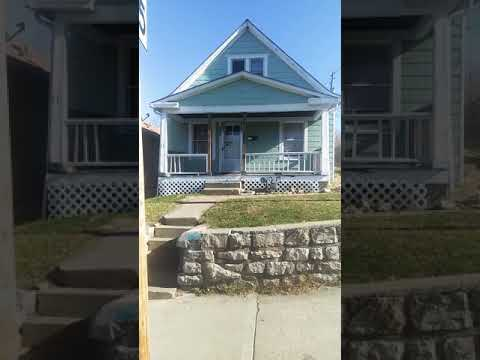 House For Sale in the Historic North East Kansas City, Missouri Area 3 bed, 1 bath Needs Rehab Work.