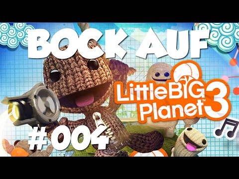 Noch mehr Karaoke?! 🎤 Lets Play LittleBigPlanet #004 |Bock aufn Game?