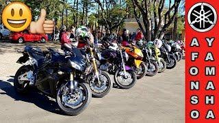 4 XJ6 e Várias Motos no Rolé # Rua do Porto em Piracicaba